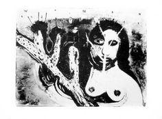 David Lynch - Woman and Tree