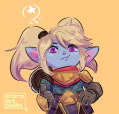 Tumblr Poppy League, League Of Legends Poppy, Champions League Of Legends, League Of Legends Characters, Female Characters, Dog Background, Perspective Art, Riot Games, Lego