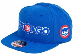 "AMERICAN NEEDLE x MLB ""Second Skin Cubs"" Snapback Cap"