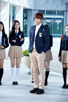 """Heirs"": Lee Min Ho Gets A Cold Reception 