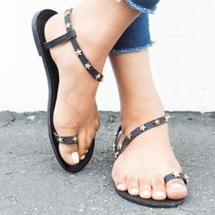 aaf34ccf9f7 37 Best studded sandals images