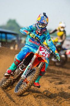 AMA motocross Marvin Musquin #25