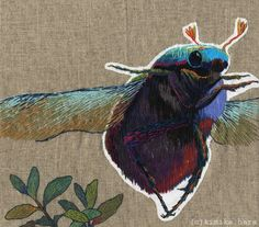 20 Whimsical Embroidered Animals By Kimika Hara - BuzzFeed Mobile