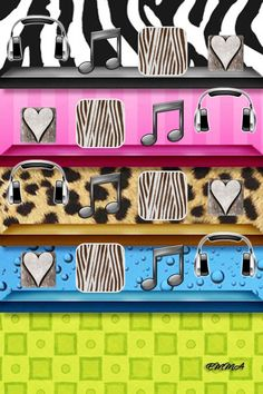Iphone shelves