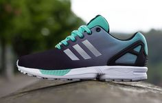 Adidas ZX Flux 'Gradient' (Mint Green) - That's one nice looking shoe.