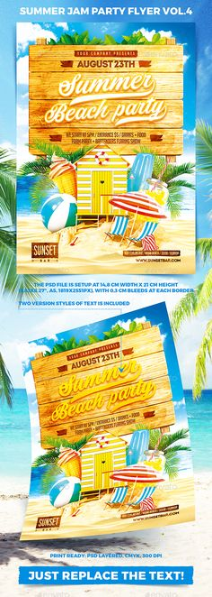 Summer Jam Party Flyer vol.4