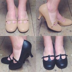 Whatever outfit you choose you'll feel confident in these classic retro heels! #blamebetty #retroshoes #retrofashion