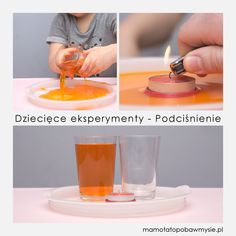 Ten eksperyment wyjątkowo spodobał się Aurelce, powtarzaliśmy go z pięć razy i za każdym razem cieszył ją tak samo. ;) Montessori Materials, Aktiv, Soap, Education, Bottle, Kids, Plays, Therapy, Young Children