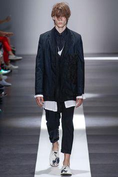 Ann Demeulemeester 2015 spring menswear