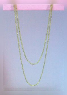 Green seed bead necklace. Price - Rs 175/-
