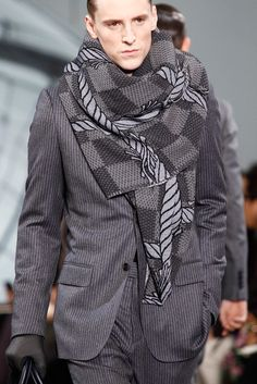 Louis Vuitton Fall 2012 Menswear Fashion Show Details