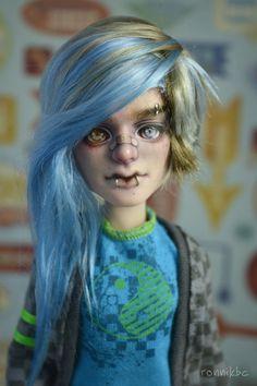 OOAK-Monster high Puppe repaint benutzerdefinierte Jackson Jekyll