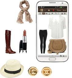 """""""Create a Downtown Muse look for a chance to win a Samsung GALAXY Note II!"""" by faith-nneka-odigbo on Polyvore"""