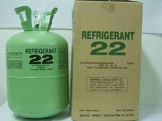 #R22gas is an HCFC and used in refrigeration and air conditioning systems.