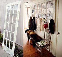 Eine tolle Idee um einer alten Tür wieder Leben einzuhauchen :)