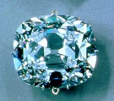 The Cullinan II is the massive 317.40 carat cushion shaped diamond in the center-front of the Imperial State Crown of Great Britain. Cullinan II was cut from the largest gem-quality diamond ever found, it weighed 3106 carats, or about 1 1/3 pounds. The nine larger stones of the Cullinan diamond remain either in the British Crown Jewels or in the personal possession of the Royal Family. 4th largest diamond in the world.