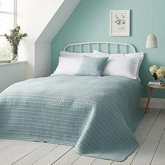 Duck Egg Blue Bedroom, Blue Bedroom Walls, Blue Bedroom Decor, Bedroom Wall Colors, Bedroom Color Schemes, Home Bedroom, Duck Egg Blue Quilt, Duck Egg Blue Bedding, Duck Egg Blue Wall