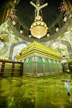 Roza -e -Mubarak (tomb) of Hazrat Ali RaddiAllahu An'hu