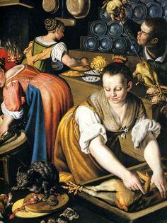032[amolenuvolette.it]1501 1600 vincenzo campi, la cuisine, détail droit.jpg 2 530 × 3 379 pixels
