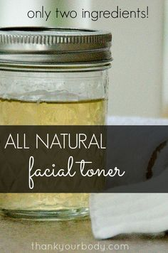 This all natural facial toner is super effective and so simple. It will help make your complexion gorgeous. Check out why I use apple cider vinegar.