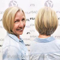 50  Layered Blonde Bob