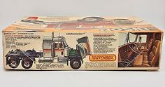 1979 AMT Chevy Bison Tractor Truck Model #5002 1/25 Complete Bagged