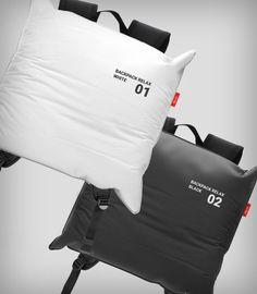 "designbinge: "" The Backpack – Relax Designer: Maya Prokhorova "" Ästhetisches Design, Sacs Design, Yanko Design, Fashion Bags, Mens Fashion, Men's Backpacks, School Backpacks, Futuristic Design, Inspiration Mode"
