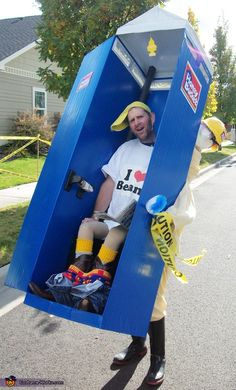 """A Whole New meaning to """"On-The-GO!"""" - Homemade costumes for men"""