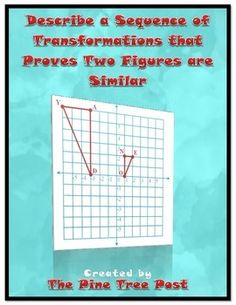 ... sequence of transformations that would prove the two figures are