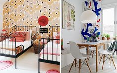 Design Style 101: Scandinavian | Marimekko and Josef Frank patterns in interiors | abeautifulmess.com