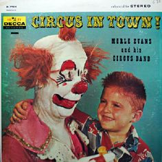 Clown Excessively Eyeing Little Boy | Community Post: The 11 Creepiest Album Cover Clowns