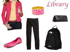 Cute, yet comfy for the library.