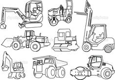 Printable Construction Coloring Pages
