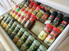 SPICE DRAWER INSERT | Do It Yourself Home Projects from Ana White