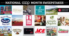 Help us celebrate this national co-operative month with our biggest giveaway ever! Enter now through 10/23/16 11:59pm EST.