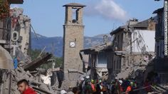 A 6.2-magnitude earthquake hit Italy early Wednesday. Rescuers are still…
