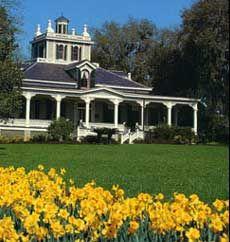Joseph Jefferson Home, Rip Van Winkle Gardens on Jefferson Island - New Iberia, Louisiana
