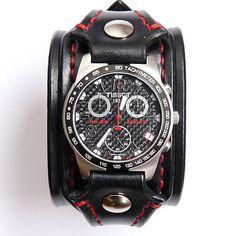 Kožený remienok na hodinky II