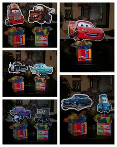 Pixar Cars Birthday, Cars Birthday Parties, 3rd Birthday, Birthday Ideas, Superman Party, Disney Cars Party, Cars Invitation, Lightening Mcqueen, Celebrations