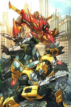 Transformers - Autobots by Alex Milne