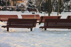 Winter Park Bench - Public Domain Photos, Free Images for Commercial Use