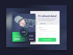 Credit Card Checkout Daily UI #002 by Marcin Leman