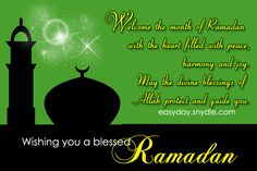 Ramadan Mubarak, Ramadan Quotes, Messages and Ramadan Wishes!!!