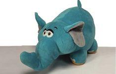 Nabídněte svým dětem kvalitní české hračky. Sloník v krásné syté barvě je jistě potěší a stane se jejich kamarádem pro hru i při usínání.  Velikost: 25cm Český výrobek. Piggy Bank, Dinosaur Stuffed Animal, Toys, Animals, Activity Toys, Animales, Money Box, Animaux, Clearance Toys