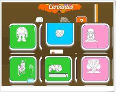 """""""Colorea con Cervantes""""  (Junta de Castilla y León) Language, Draw, Educational Activities, Summer Vacations, Book, Games, Colors, To Draw, Languages"""