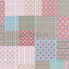 Foulard Pieced Pattern