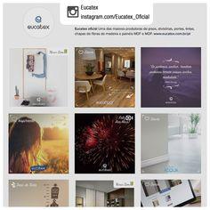 Produção de conteúdo e gerenciamento de rede social   Cliente: Eucatex   Rede social: instagram.com/eucatex_oficial   Exemplos de conteúdos produzidos: 1. instagram.com/p/BN1fsc3DUQR/   2. instagram.com/p/BMEMjWJj_ab/