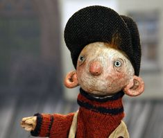 Newsboy from 'I Knew an Old Lady Who Swallowed a Fly' by Puppet Heap