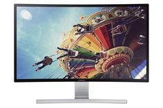 """Samsung S27D590C Monitor 27"""" Curvo, Nero Lucido/Argento: Amazon.it: Informatica"""