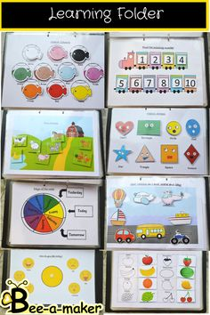 Kindergarten Learning, Preschool Learning Activities, Preschool Lessons, Infant Activities, Interactive Activities, Activity Books For Toddlers, 3 Year Old Activities, Shape Activities, Preschool Prep